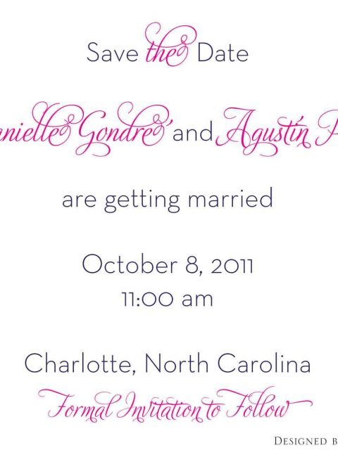Danielle - Save the Date