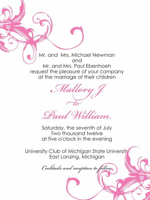 Three Little Birds - wedding - invitation - design - shavonne