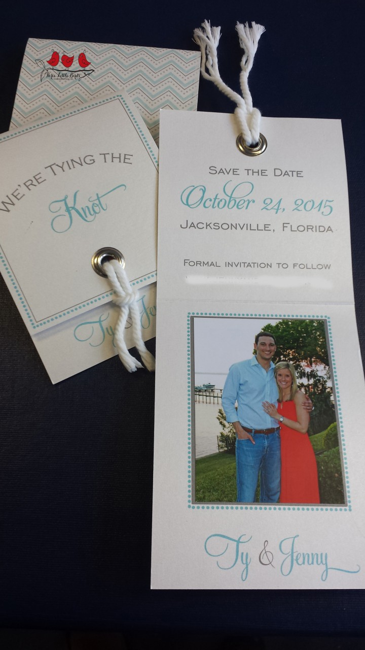 Three Little Birds_Save the Date_Nautical_Shimmer_Knot